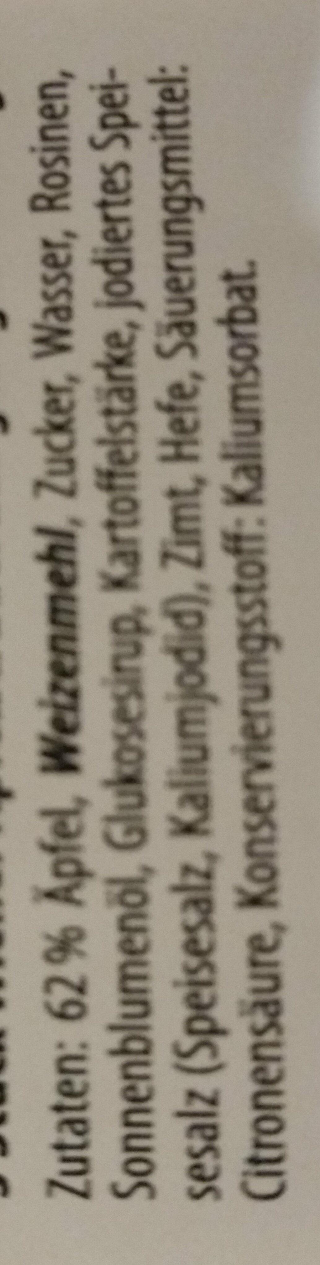 Wiener Apfelstrudel - Ingredients