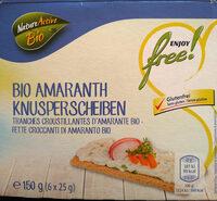 Bio Amaranth Knusperscheiben - Product - de