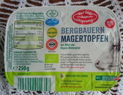 Bergbauern Magertopfen - Product