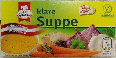 Koncentrat za zelenjavno bistro juho - Product