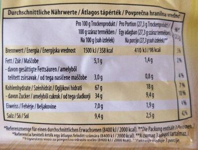 Paradižnikova juha s testeninami - Nutrition facts