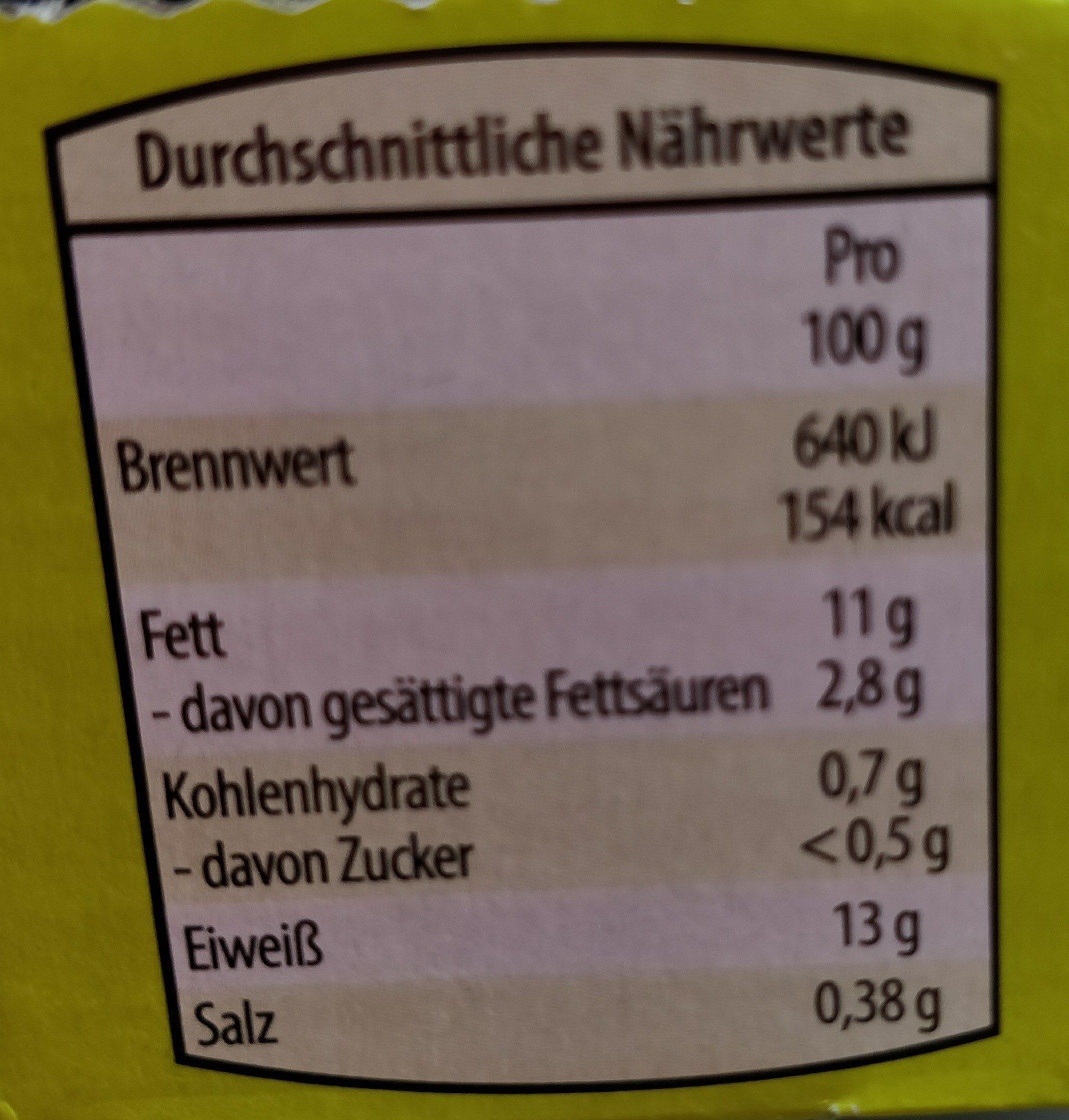 10 Hahn im Glück Bio-Eier (Hofer) - Nutrition facts