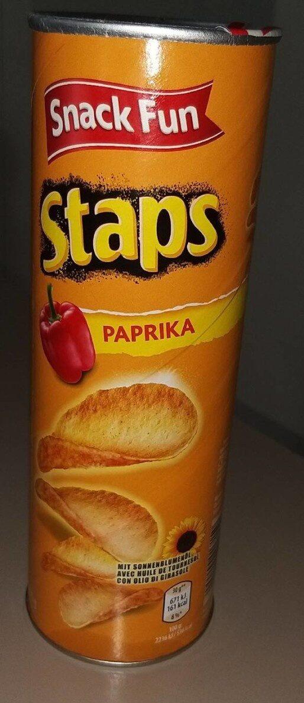 Chips Staps paprika - Producte - fr