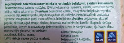 Affettato con cetriolo - Ingredients