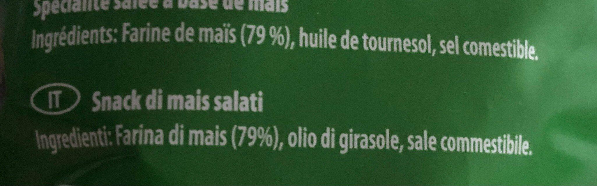 """Tortilla Chips """"Nature"""" - Ingrediënten"""