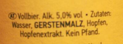 Kühles Blondes - Ingredienti - de