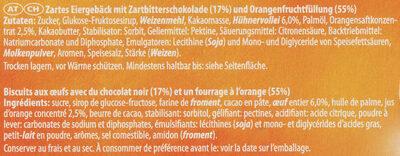 Soft Cake Orange - Ingrediënten - de