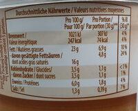 Walnuss, préparation au fromage frais avec noix - Ingredienti - de
