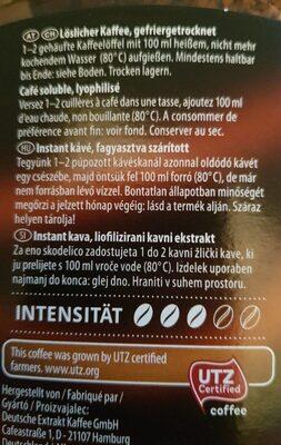 Goldman café - Valori nutrizionali - fr