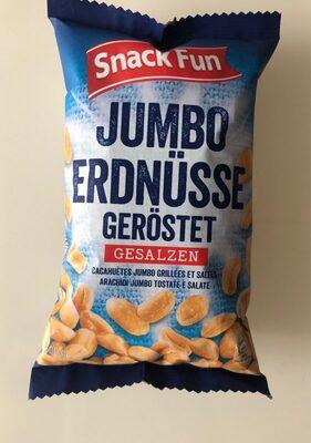 Cacahuètes Jumbo grillées et salées - Prodotto - fr
