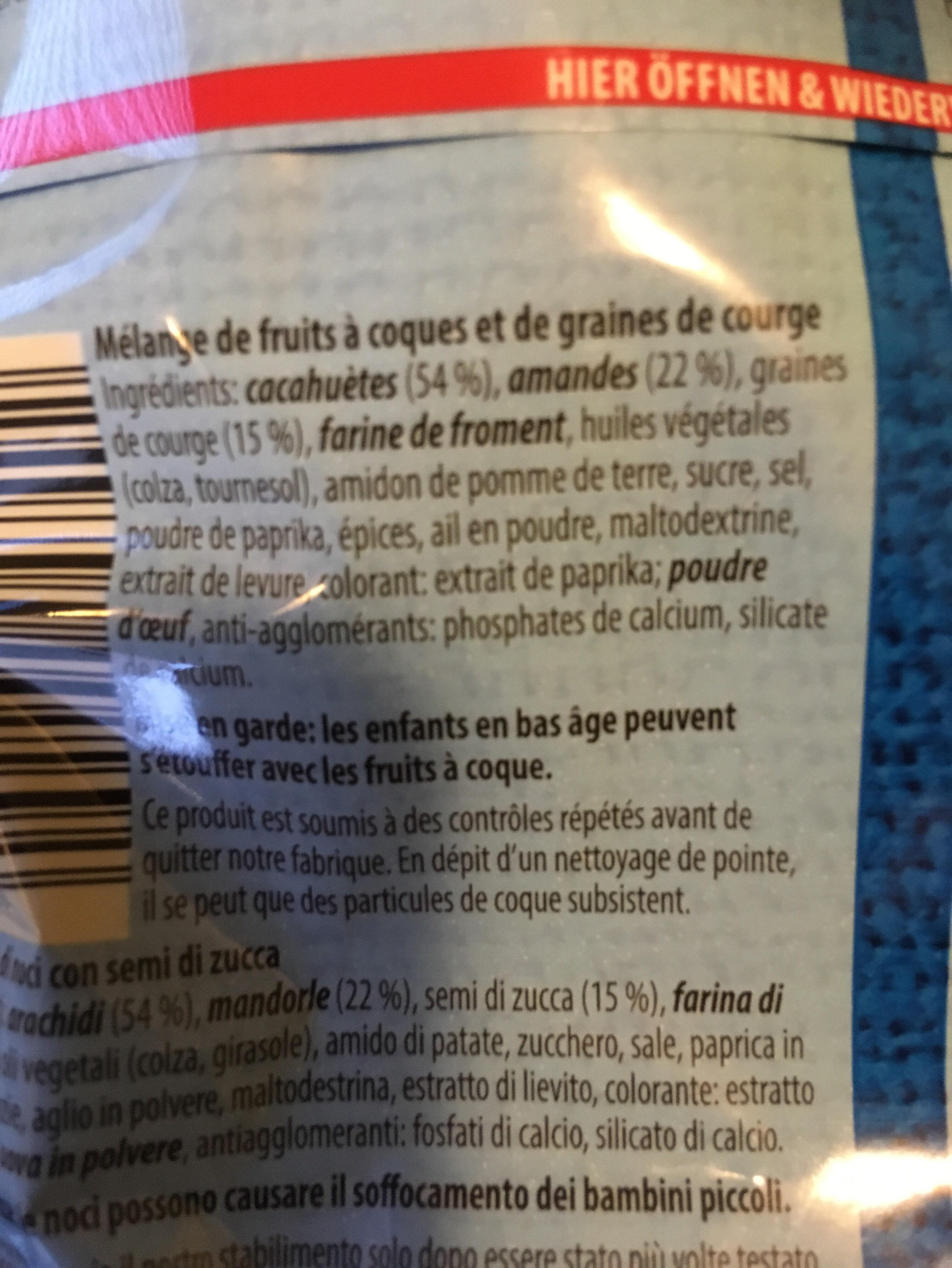 Nuts 'N More - Ingredienti - fr