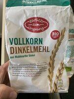 Vollkorn Dinkel Mehl - Product - de
