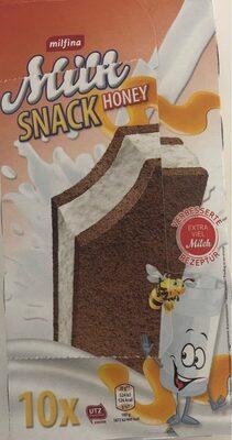 Milk snak honey - Product - fr