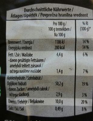 Fagottini, paradicsommal és fokhagymával - Informations nutritionnelles - hu