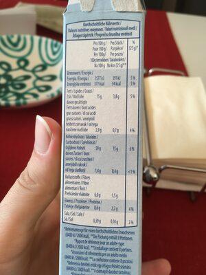 Müsli Riegel - Nutrition facts - de