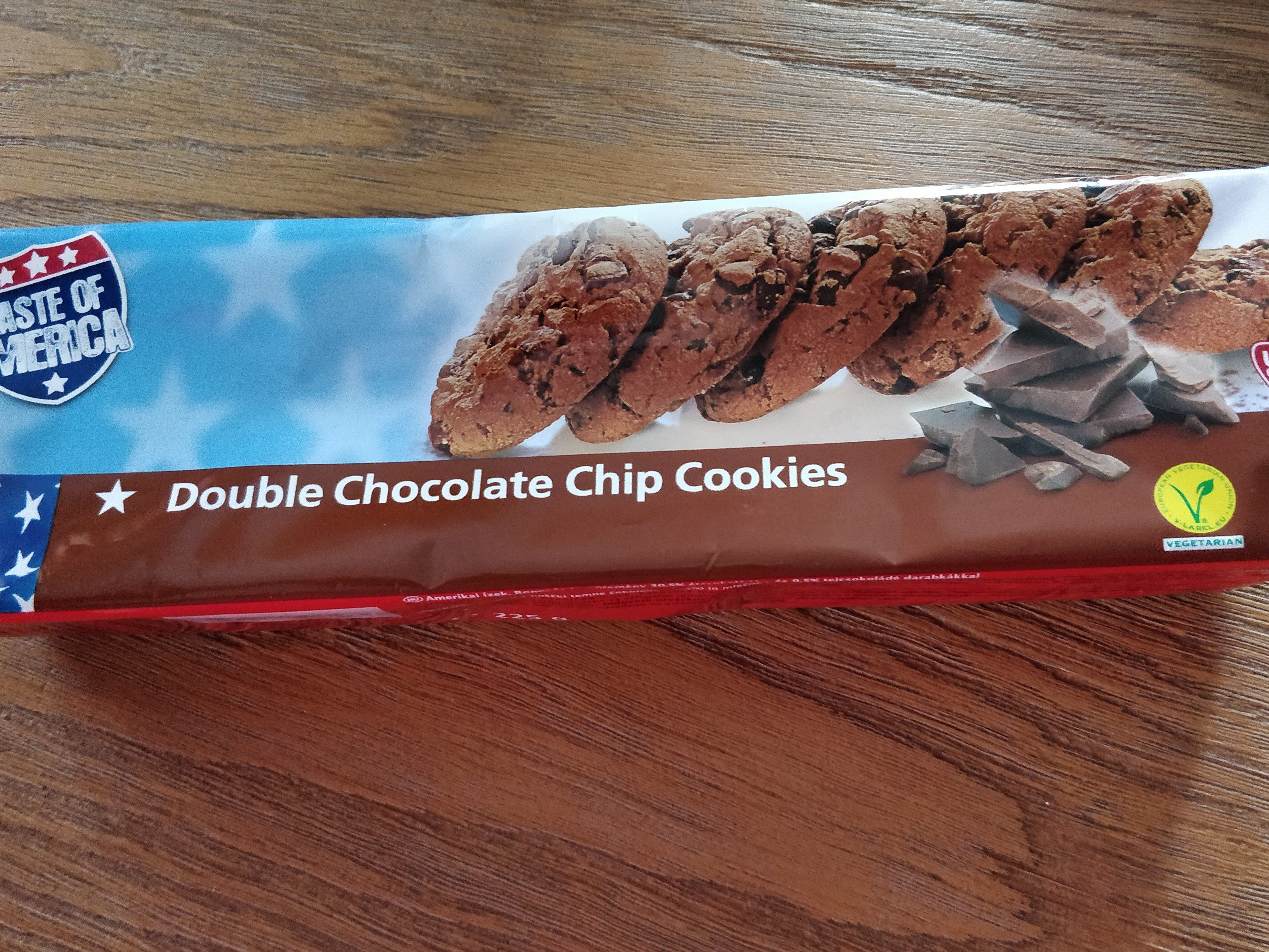 Double chocolate chip cookies - Product - fr