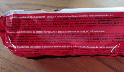 Double chocolate chip cookies - Ingrediënten - fr