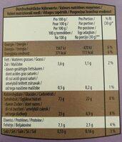 Choco Krunchy - Voedingswaarden