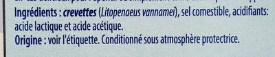 Crevettes - Ingredients - fr