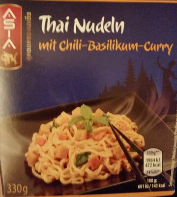 Thai Nudeln mit Chili-Basilikum-Curry - Product