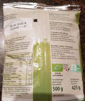 BIO Choucroute d'Autriche - Nutrition facts - fr