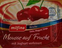 Mousse auf Frucht Kirsche - Product