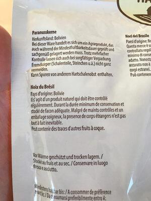 Noix du Brésil - Ingredienti - fr