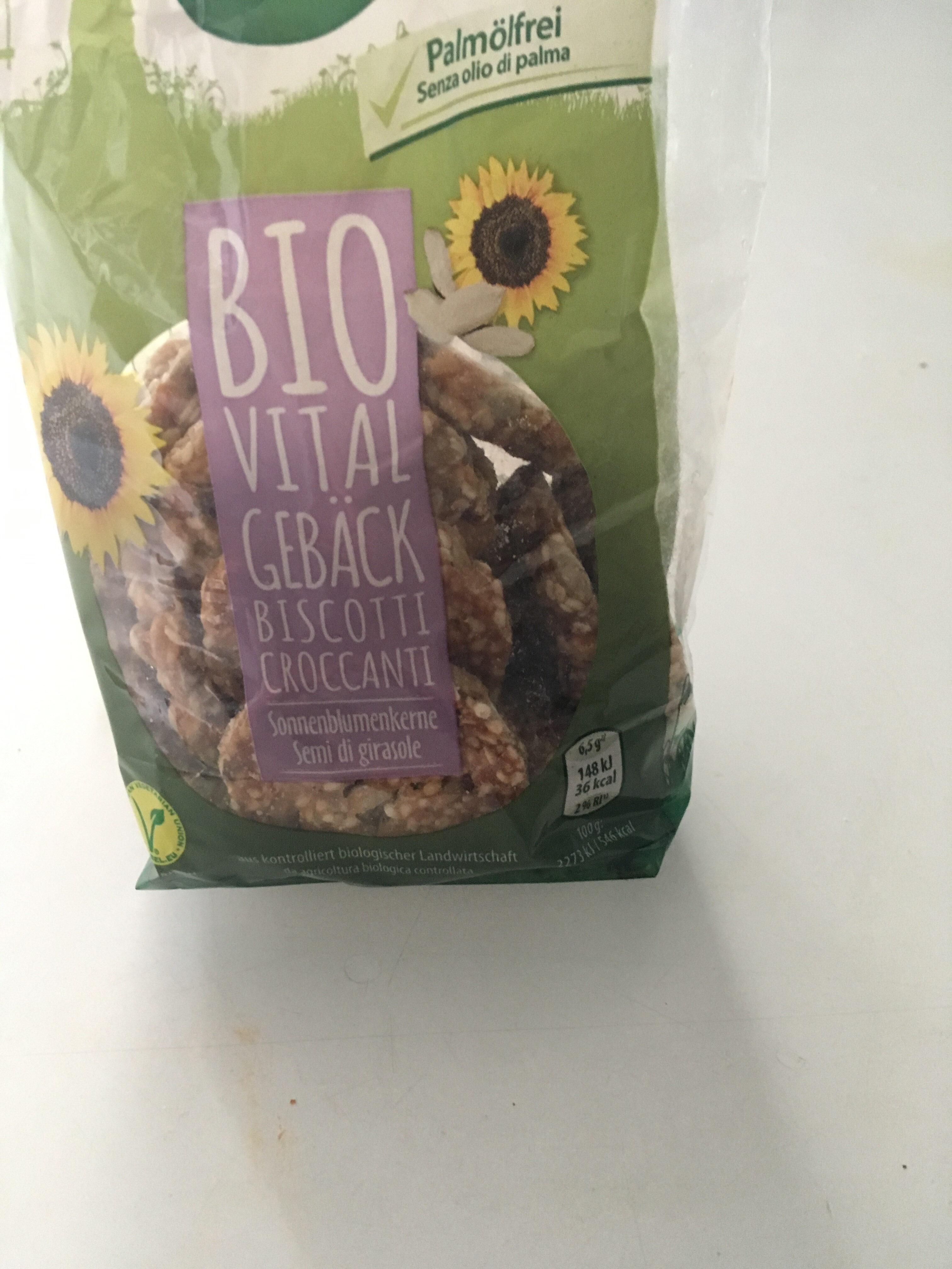 Bio. Vital Gebäck - Product