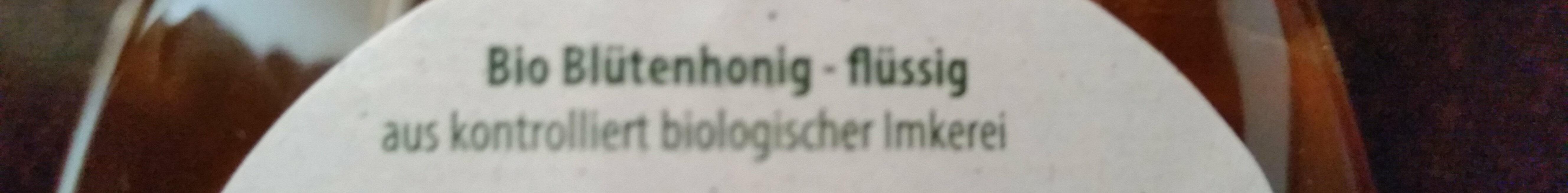 Bio Blütenhonig - Ingrediënten
