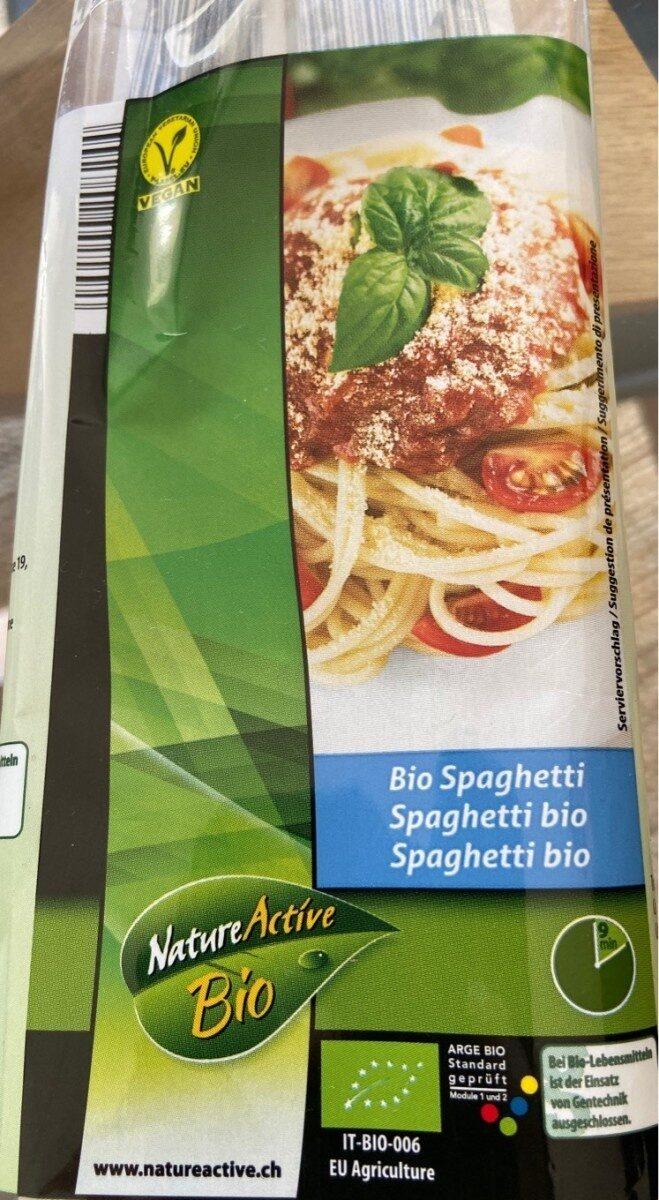 Spaghetti bio - Produit - fr