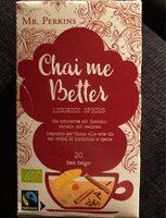 Chai me better - Produit - fr
