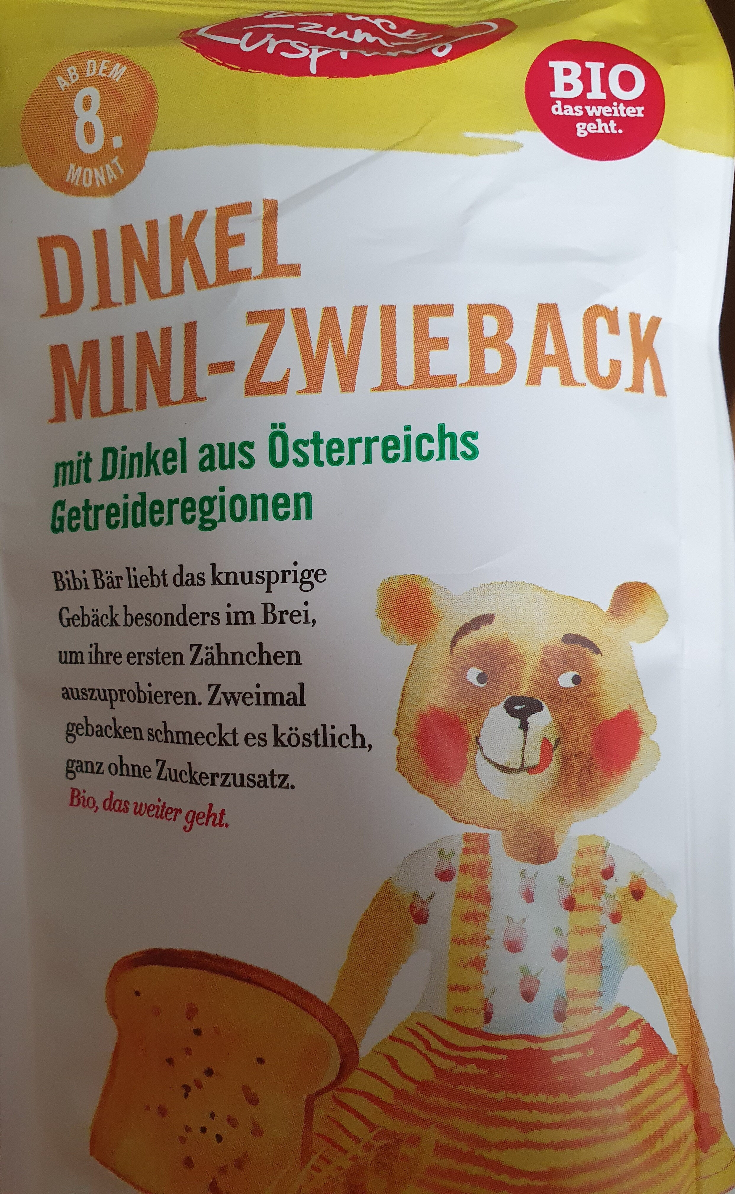 dinkel mini-zwieback - Product - de
