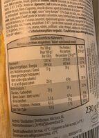 Poulet curry - Informations nutritionnelles - fr