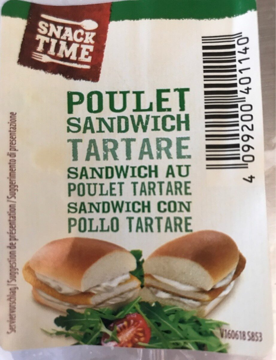 Sandwich poulet tartare - Prodotto - fr