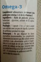 omega-3 - Ingrédients