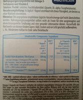 omega-3 - Informations nutritionnelles