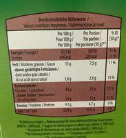 Crunchy muesli chocolat - Nutrition facts - fr