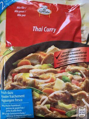 Thai curry - Valori nutrizionali - fr
