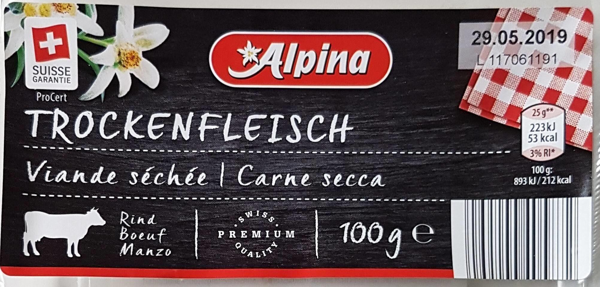 Viande séchée - Prodotto - fr