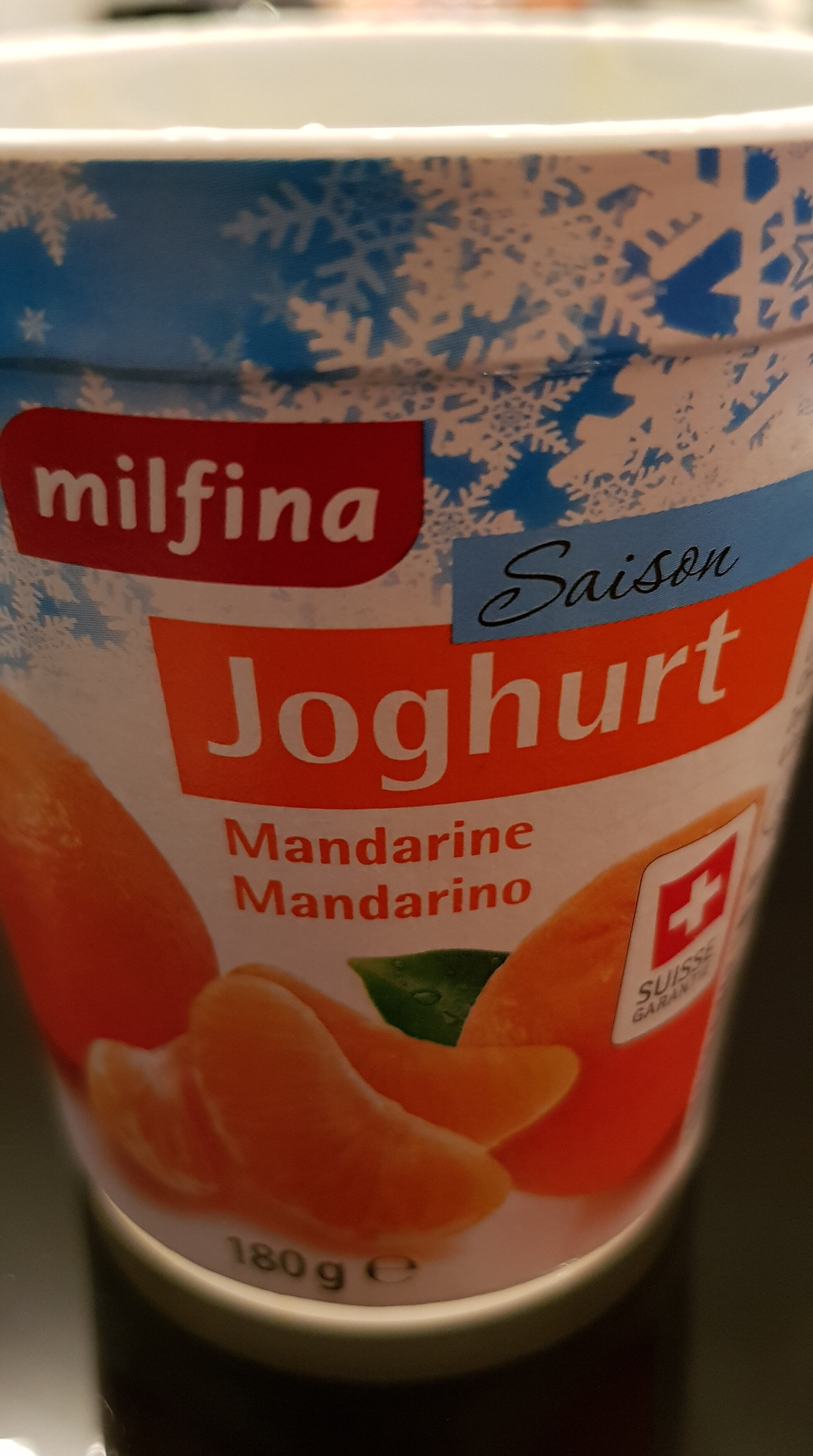 Joghurt Mandarine Mandarino - Product - fr