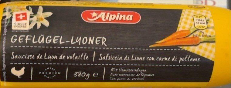 Geflügel Lyoner - Produit - de