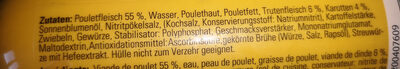 Geflügel Lyoner - Ingrédients - de