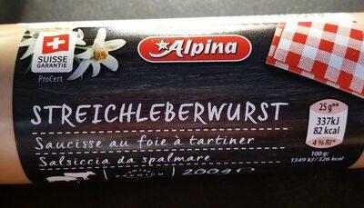 Leberwurst - Produit
