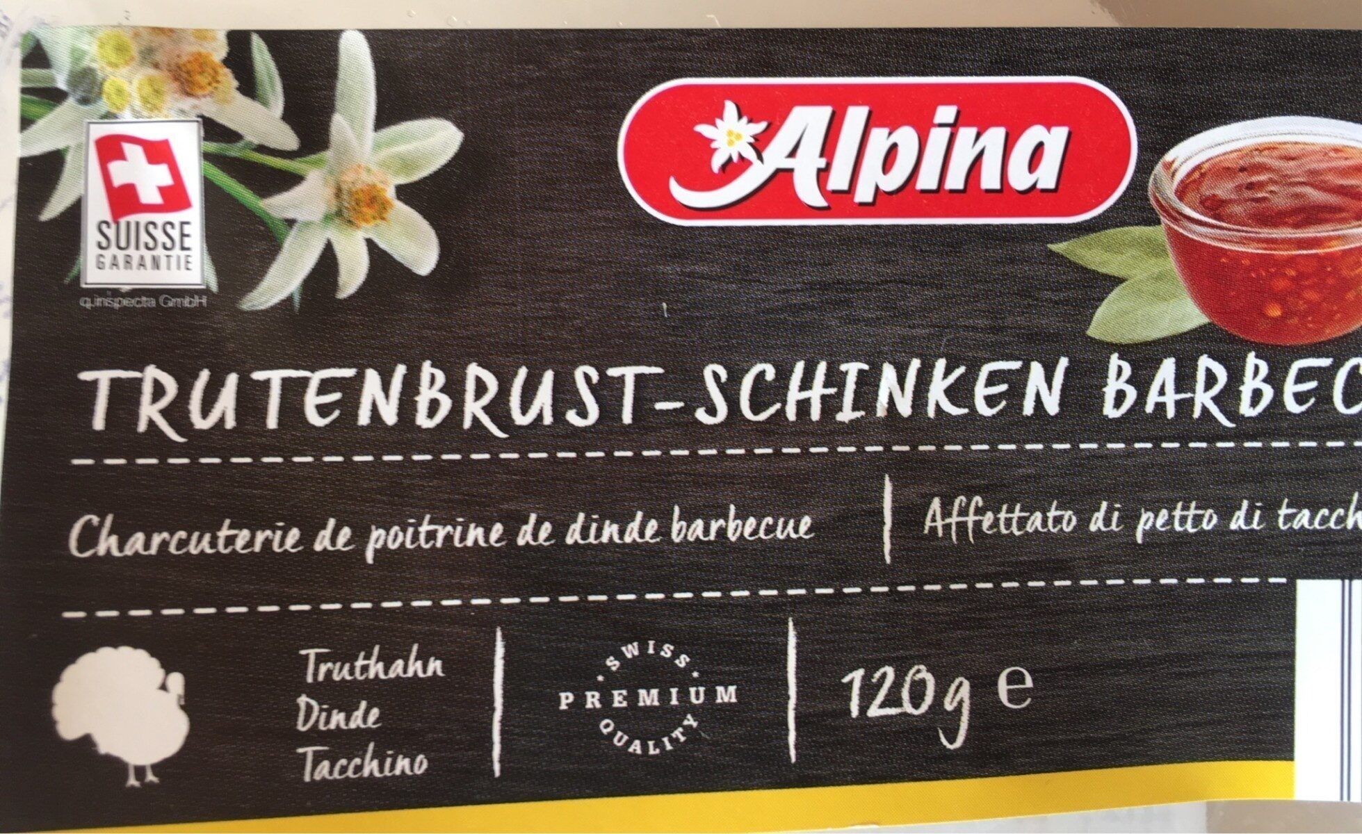 Schinken Barbecue - Produit - fr