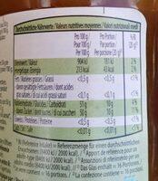 Confiture d'abricots bio extra - Informazioni nutrizionali - fr