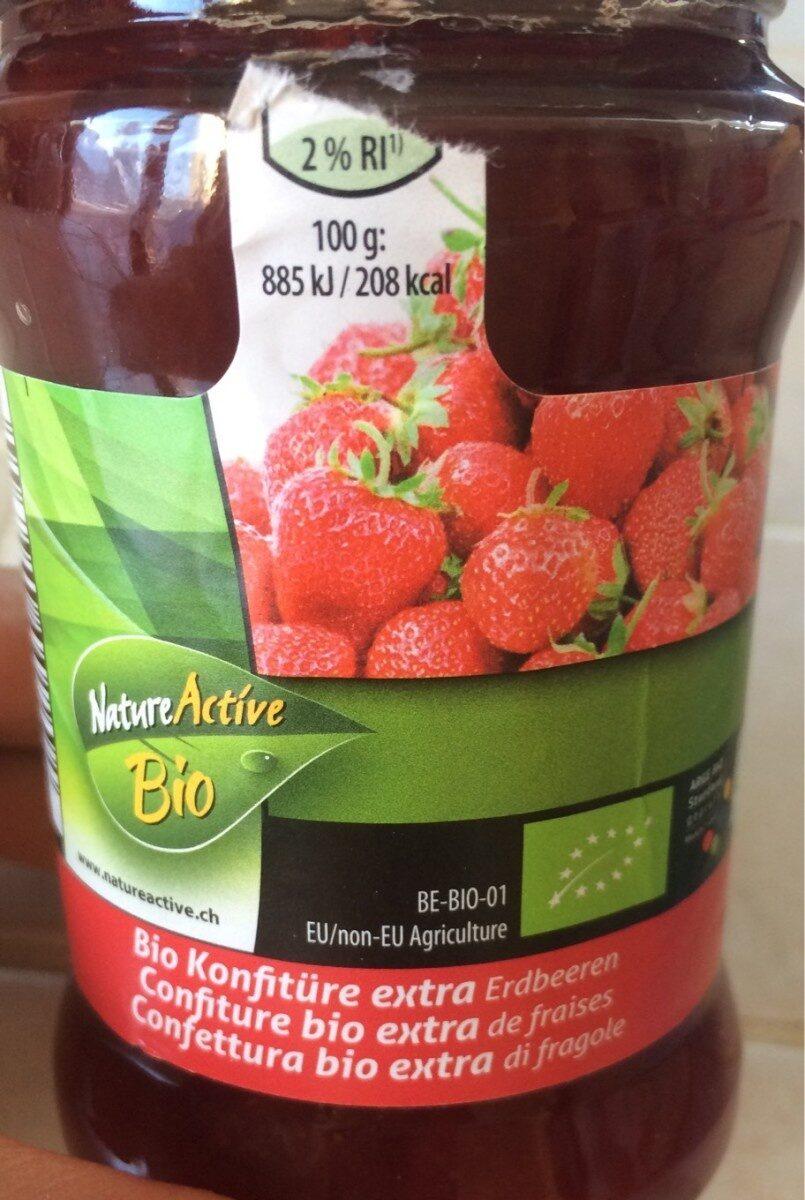 Confiture bio extra de fraises - Prodotto - fr