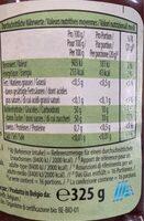 Confiture bio extra framboise - Valori nutrizionali - fr