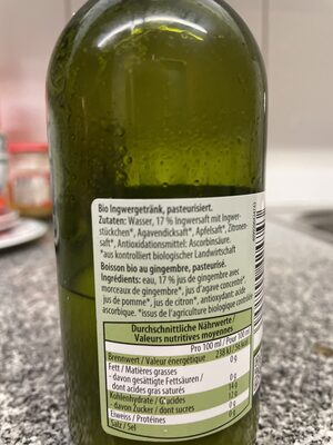 Ingwer Gingembre - Ingredients - de