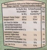 Pistachios Roastee - Voedingswaarden - fr