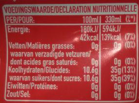 Coca Cola - Informazioni nutrizionali - it